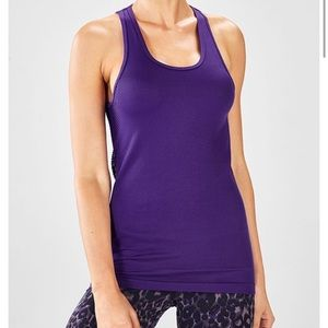 Fabletics Serenity Seamless Tank in Purple